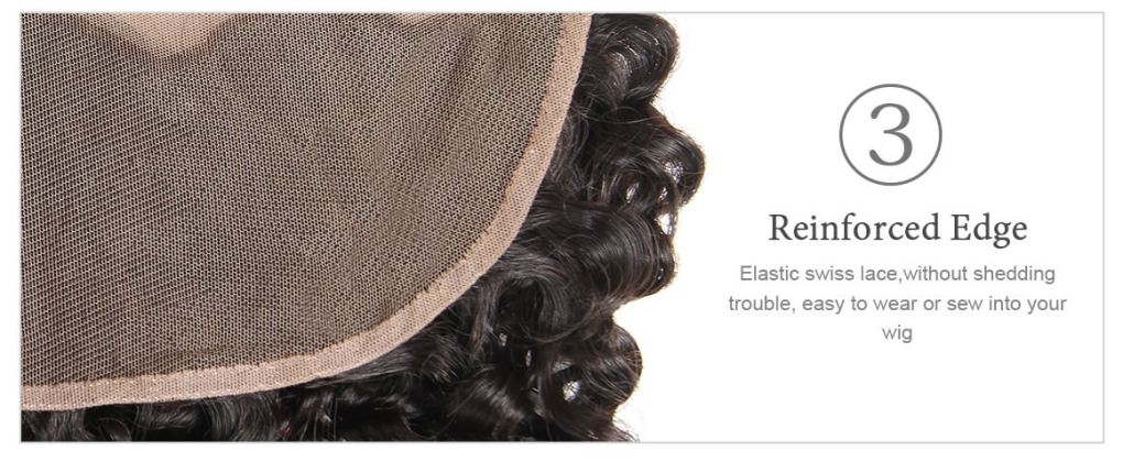 Water Wave Lace Frontal 4