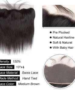 straight hair lace frontal
