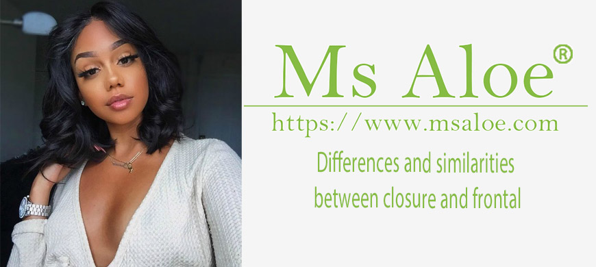Differences and similarities between closure and frontal