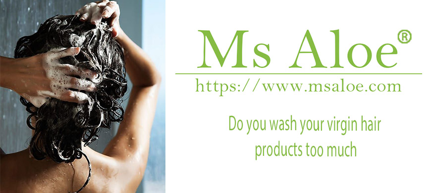 wash your virgin hair products