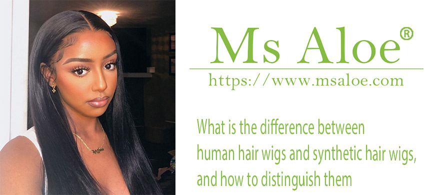 human hair wigs and synthetic hair wigs