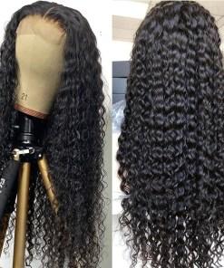 Deep Wave 5x5 Lace Closure Human Hair Wigs