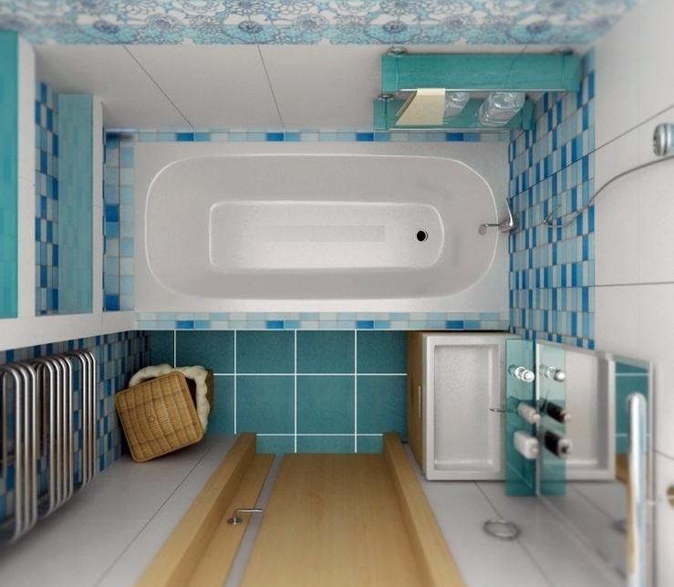 маленькая ванная комната дизайн фото 7
