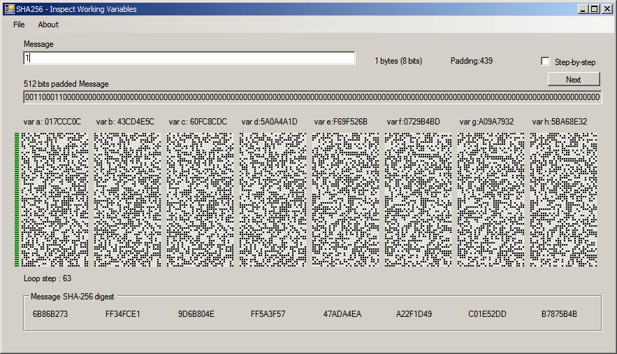 Resultado de imagen para sha 256 algorithm