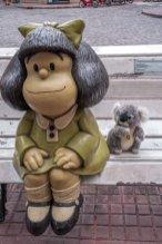 Avec ma grande copine Mafalda