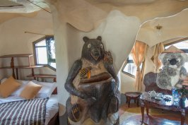 Je m'invite dans la chambre de mon pote l'ours