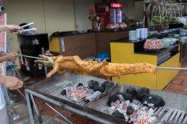 Croco au barbecue