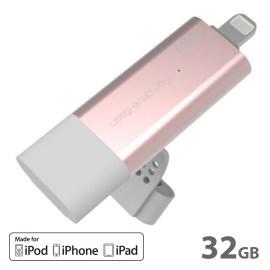 【在庫限り製品】AddOn Pendrive iFlash Pro 32GB Rose Gold