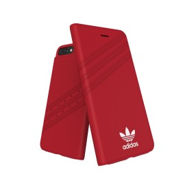 adidas Originals Gazelle Booklet Case iPhone 8 Plus Royal Red/White
