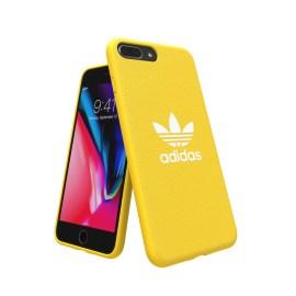 adidas Originals adicolor Moulded Case iPhone 8 Plus Yellow
