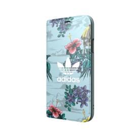 adidas Originals Floral Booklet case iPhone X Ash Grey