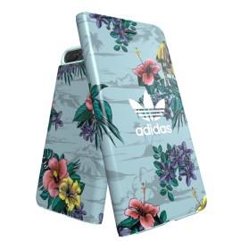 adidas Originals Floral Booklet case iPhone 8 Plus Ash Grey