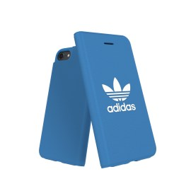 adidas Originals TPU Booklet Case BASIC iPhone 8 Bluebird/White