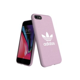 adidas Originals adicolor Moulded Case iPhone 8 Clear Pink