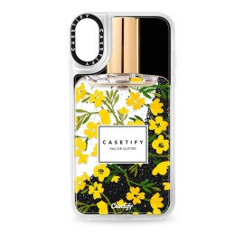 [docomo Select] Casetify iPhone XR Glitter Case Black