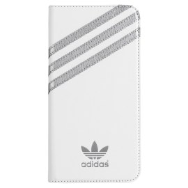 【取扱終了製品】adidas Originals Booklet Case iPhone 6 Plus White/Silver
