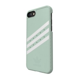 adidas Originals Suede Moulded Case iPhone 7 Vapour Green/White
