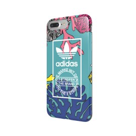 adidas Originals TPU Case iPhone 7 Plus Coral Graphic