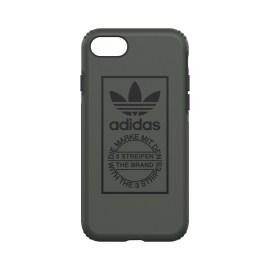 【取扱終了製品】adidas Originals TPU Hard Cover iPhone 8 Shadow Green