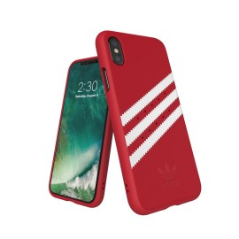 adidas Originals Gazelle Moulded Case iPhone X Royal Red/White