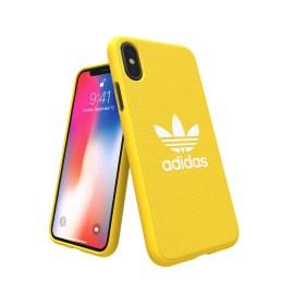 adidas Originals adicolor Moulded Case iPhone X Yellow