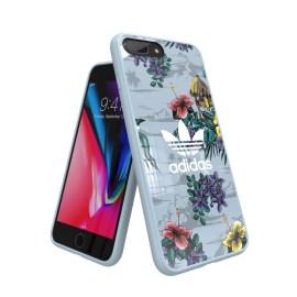 adidas Originals Floral Snap case iPhone 8 Plus Ash Grey