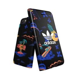 adidas Originals Beach Booklet case iPhone 8 Black