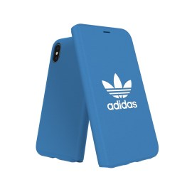 adidas Originals TPU Booklet Case BASIC iPhone X Bluebird/White