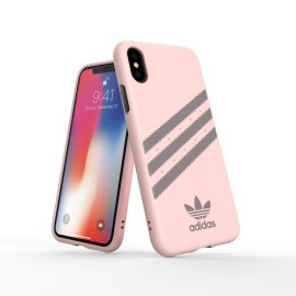 adidas Originals Moulded Case SAMBA iPhone XS Pink/Grey