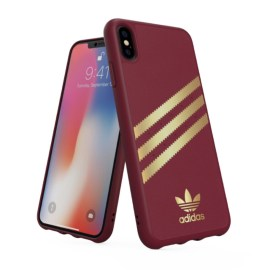 adidas Originals Moulded Case SAMBA iPhone XS Max Burgandy