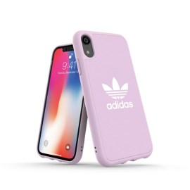 adidas Originals adicolor Moulded Case iPhone XR Clear Pink