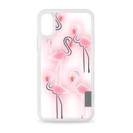 [docomo Select] Casetify iPhone X グリップ/フラミンゴ