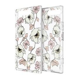 [docomo Select] Kate Spade Protective Hardshell for XPERIA XZ1 Dreamy Floral Cream/Rose