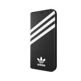 [au+1 Collection Select] adidas Originals SAMBA Book Case iPhone XR Black/White