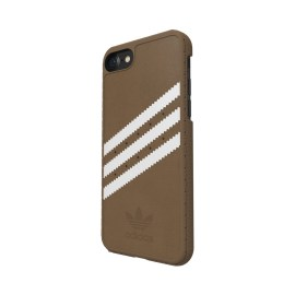 adidas Originals Suede Moulded Case iPhone 7 Khaki/White