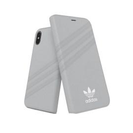 adidas Originals Booklet Case GAZELLE iPhone X Grey