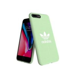 adidas Originals adicolor Moulded Case iPhone 8 Plus Clear Mint