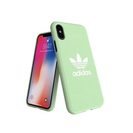adidas Originals adicolor Moulded Case iPhone X Clear Mint