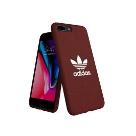 adidas Originals adicolor Moulded Case iPhone 8 Plus Maroon