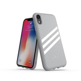 【取扱終了製品】adidas Originals Moulded Case GAZELLE iPhone XR Grey