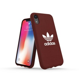 adidas Originals adicolor Moulded Case iPhone XR Maroon