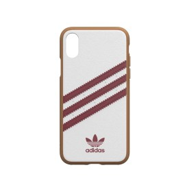 [au+1 Collection Select] adidas Originals SAMBA OG Moulded Case for iPhone XS white/red