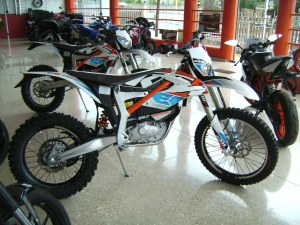 KTM FREERIDE E Electric bike