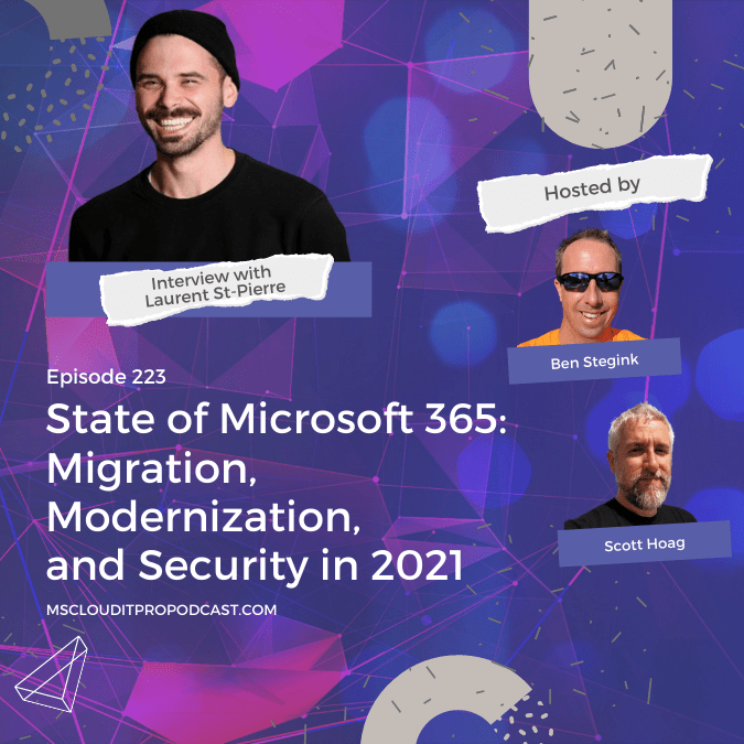 Episode 223 – State of Microsoft 365: Migration, Modernization, and Security in 2021