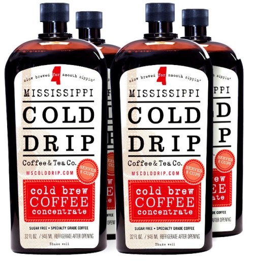 4-pack Mississippi Cold Drip Coffee Concentrate