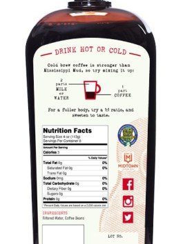 Large Cold Brew Coffee Bundle (6 @ 32oz)