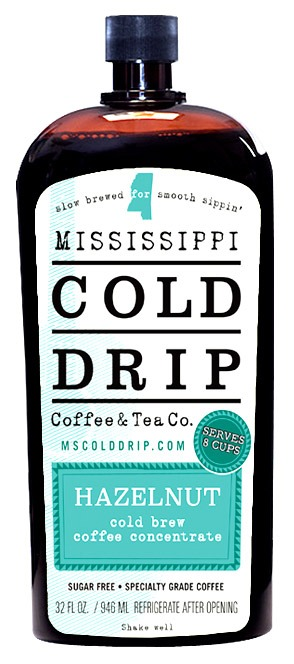 Mississippi Cold Drip Hazelnut coffee concentrate