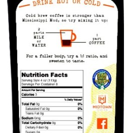 """Cold Drip Coffee Concentrate """"Pumpkin Spice"""" 32-Ounce"""