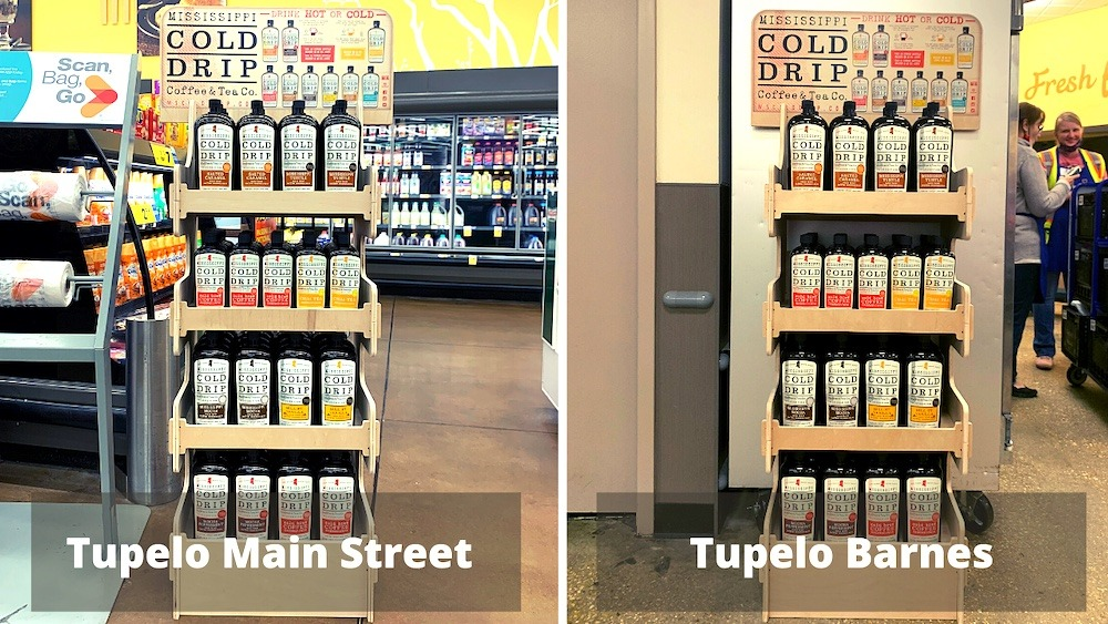 Cold Drip in Tupelo Kroger stores - Mississippi Cold Drip