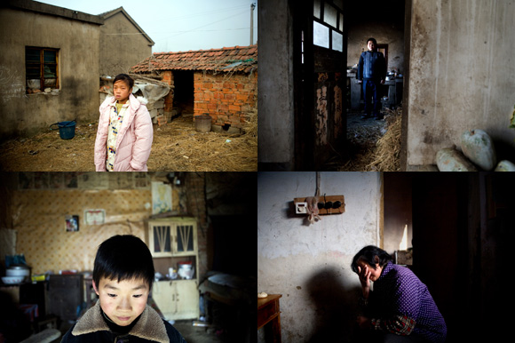 Images from Young and Abandoned selected for the China Youth exhibit at Feztiv Art Shanghai.